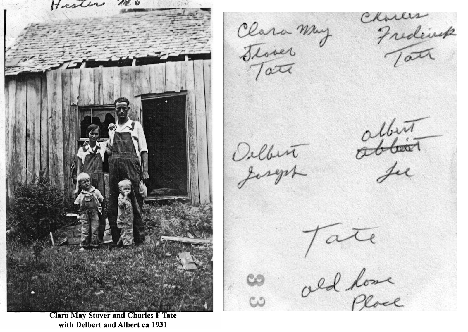 Charles F and Clara Stover Family 1931_2.png