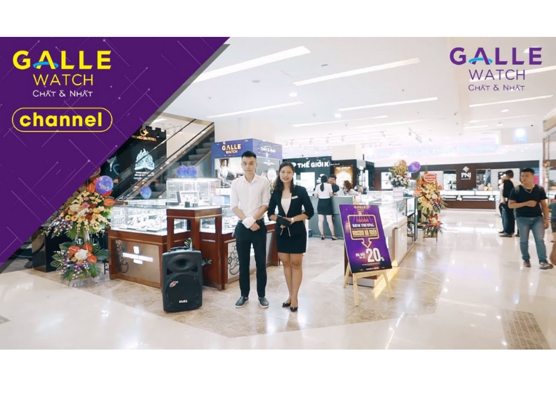 Galle Watch sở hữu hệ thống phân phối đồng hồ chính hãng 100% và nhiều chính sách, ưu đãi hấp dẫn