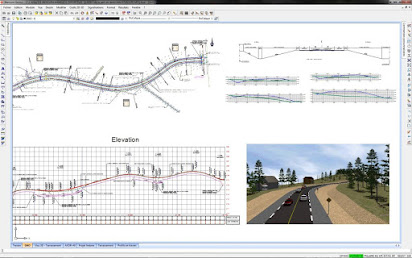 Road calculation software