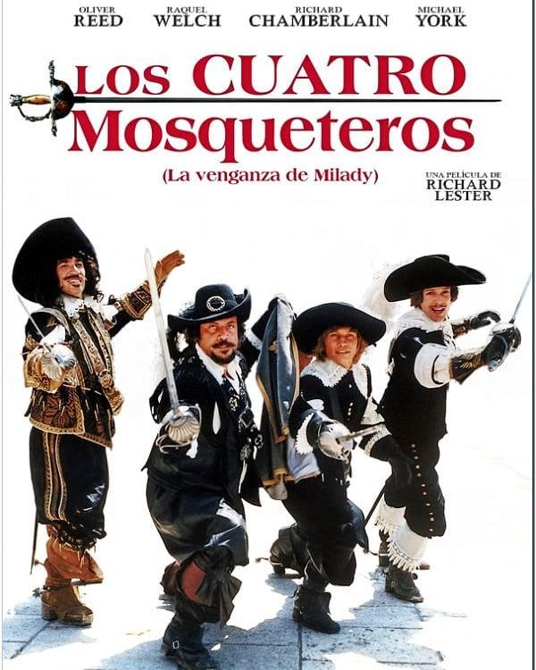 Los cuatro mosqueteros (1974, Richard Lester)