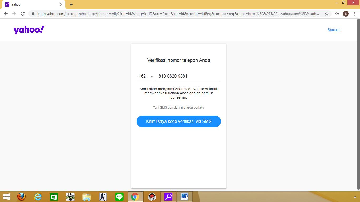 Tahapan Dalam Mebuat Akun Email Yahoo