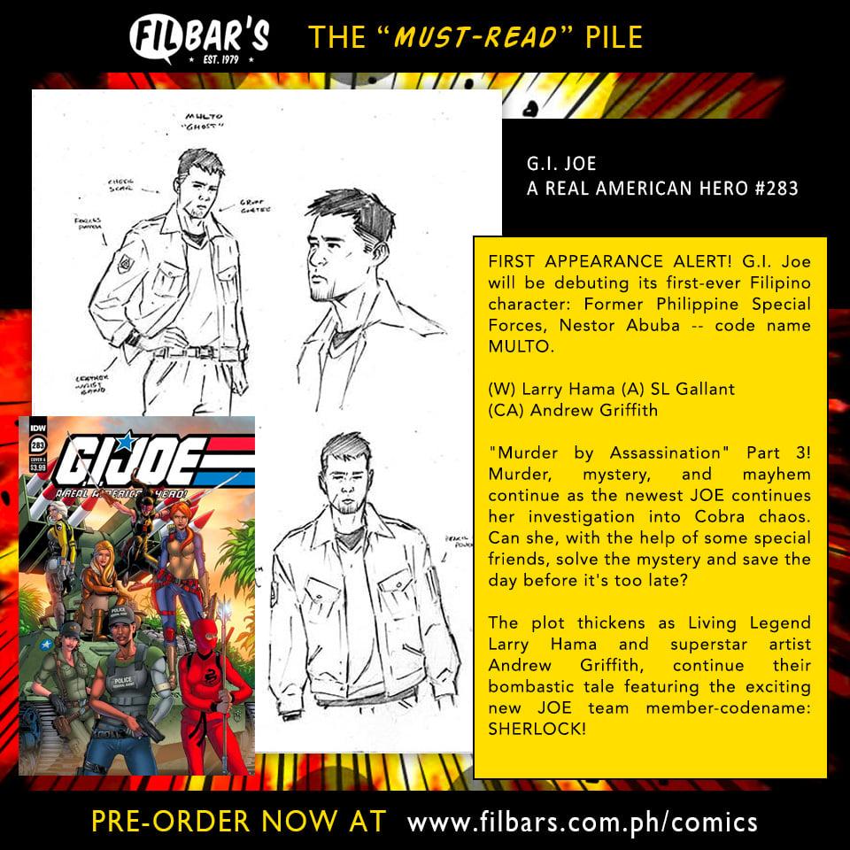 G.I. Joe welcomes first Filipino character