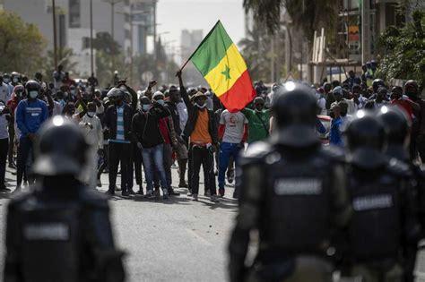 Masseprotester Senegal 2021 3