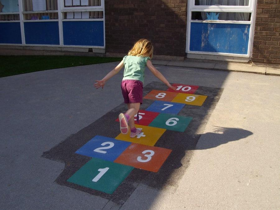 Benefits of Playing Hopscotch