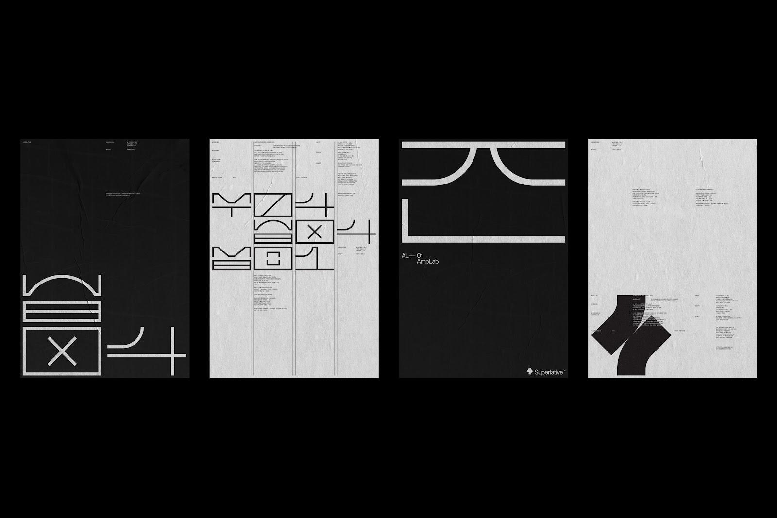 Superlative branding, bespoke hieroglyphs by KurrpaHosk