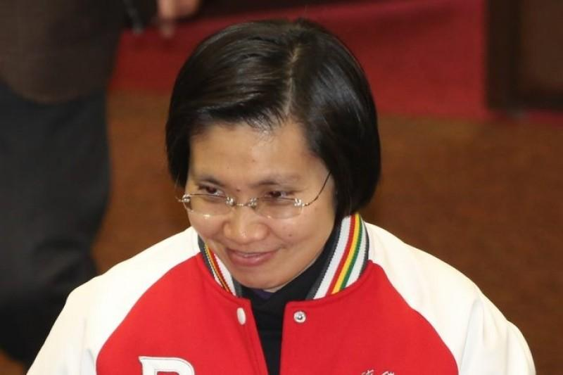 立委徐欣瑩大動作退出國民黨,宣布要投入推動第三勢力,誓言打破兩黨政治。(資料照片,余志偉攝)
