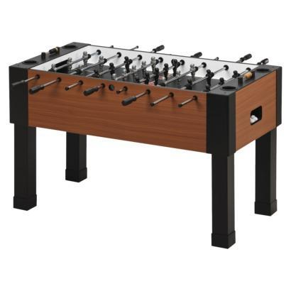 GLD Maverick Fooseball Table - Brown/Black