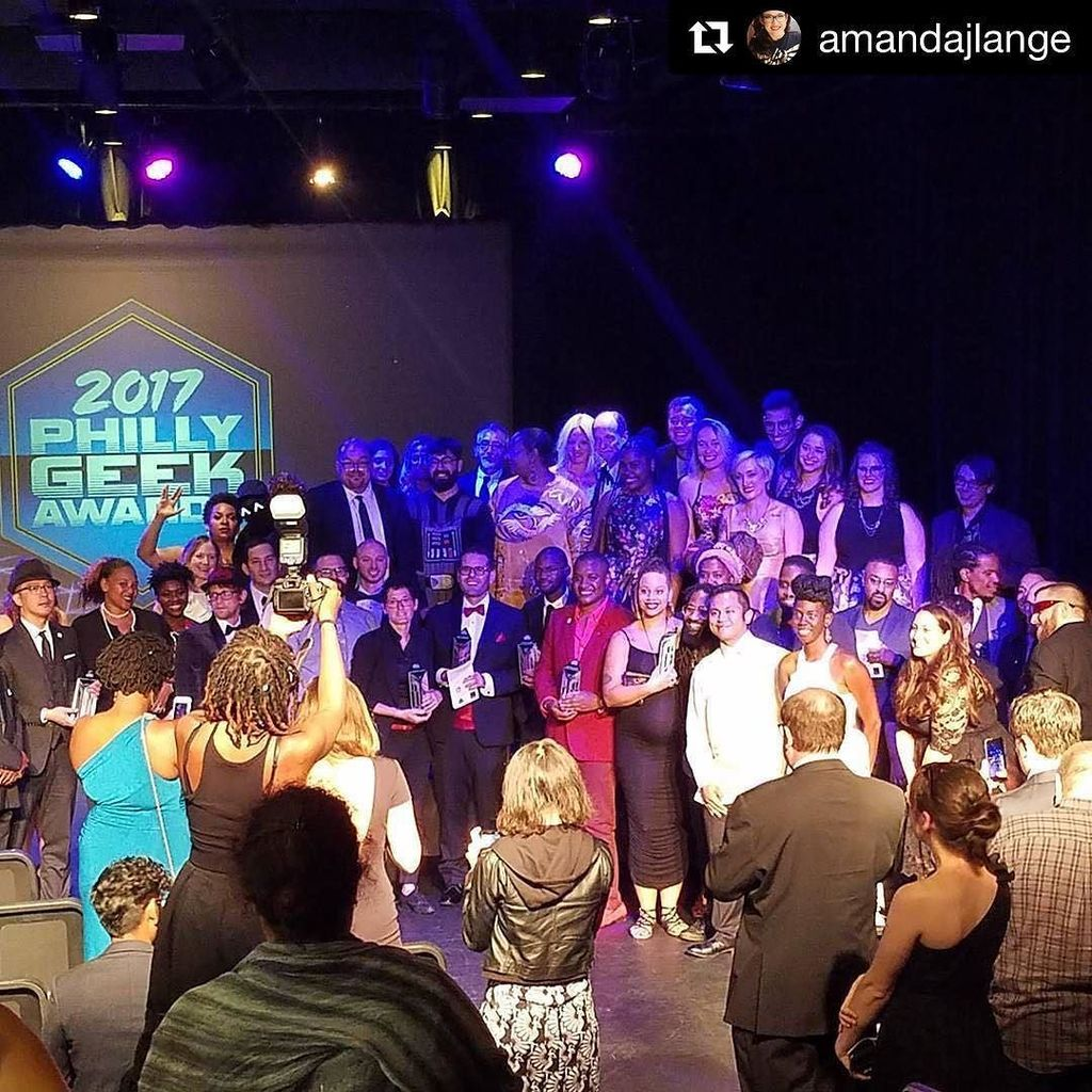 The Presenters, Nominees, Winners and Producers of the Philly GEEK Awards
