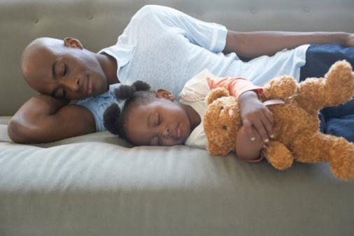 without good sleep - the family suffers a little or a lot