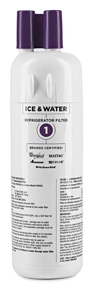 EVERYDROP BY WHIRLPOOL REFRIGERATOR WATER FILTER 1