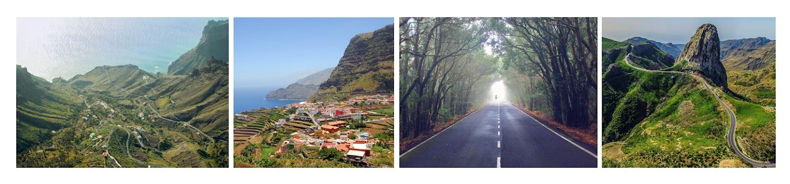Viajes en moto por la isla de la Gomera