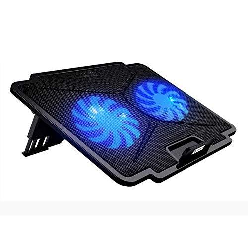 Tarkan Dual-Fan Laptop Cooling Pad