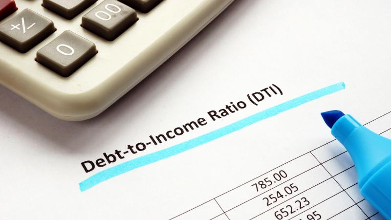 Debt-to-Income ratio calculations