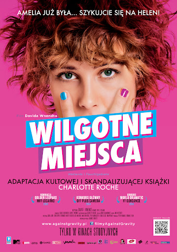 Polski plakat filmu 'Wilgotne Miejsca'