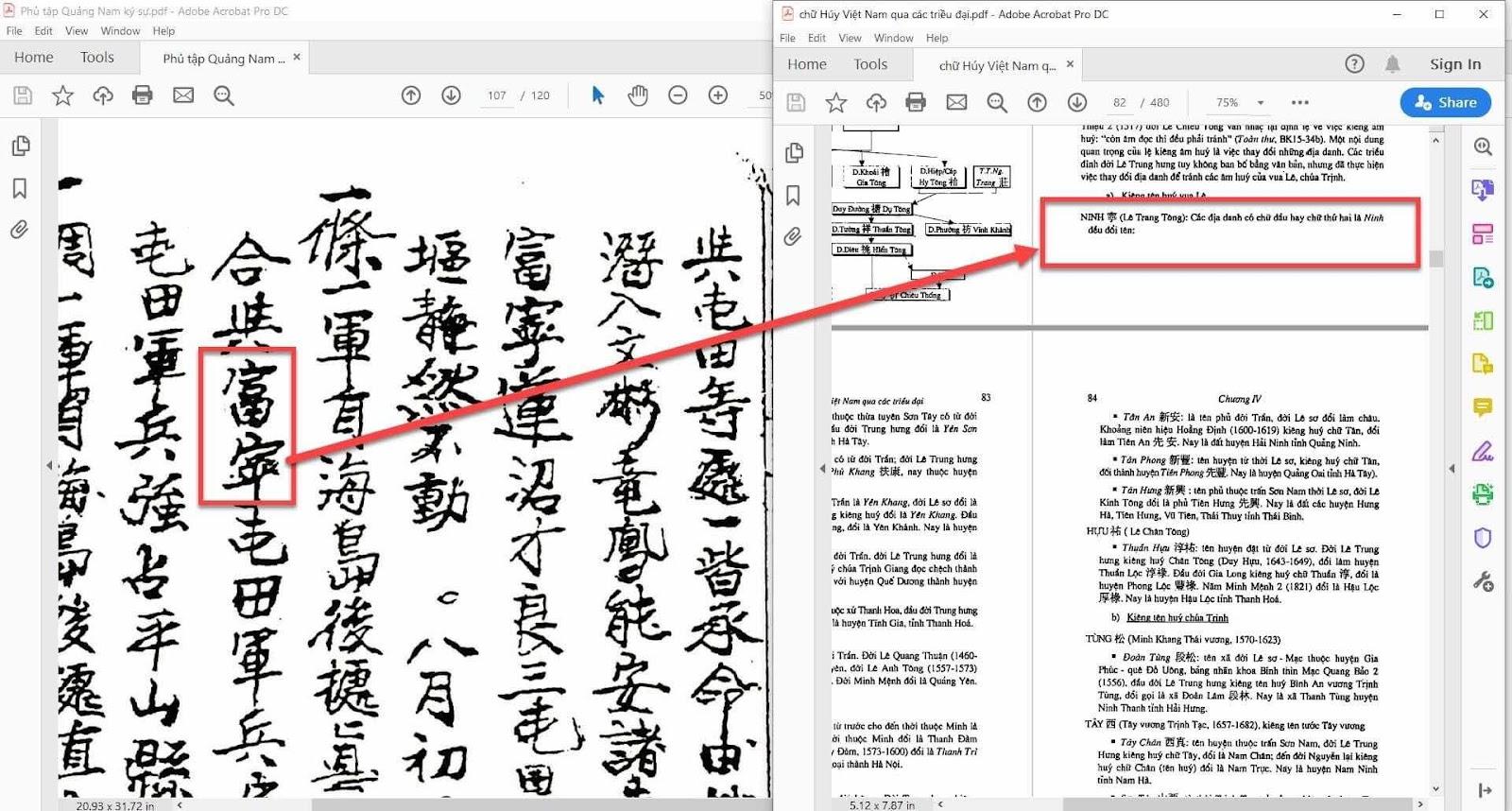 Về tên địa danh Phù Ninh và lá thơ Nguyễn Kim