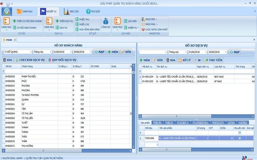 Phần mềm quản lý phòng khám DENTAL SOFT