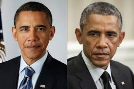 Billedresultat for before and after photos obama