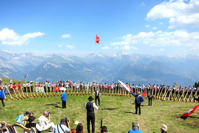 International Alphorn Festival in Nendaz
