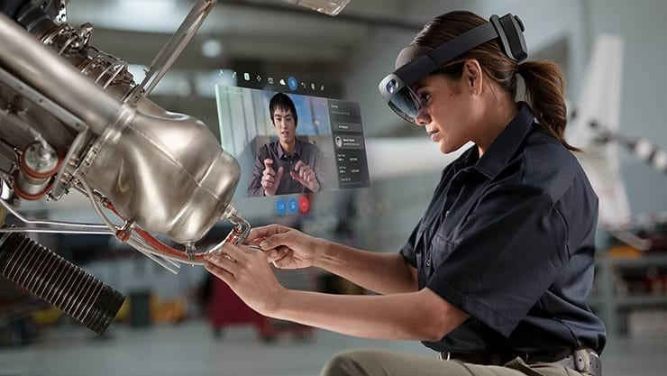 HoloLens 2's use in Industry