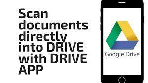 numériser des documents avec google drive