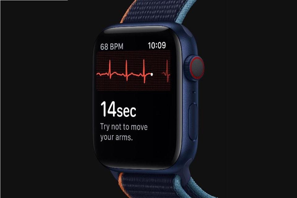 Máy đo điện tâm đồ đồng hồ Apple Watch Series 6 GPS 40mm ngay trên cổ tay bạn