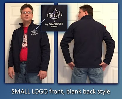 Alumni Jacket - Small Logo ONLY on front left chest