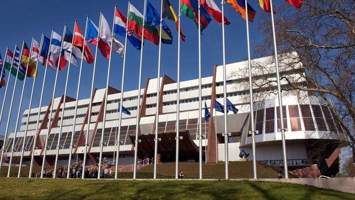 Флаги стран, подписавших Конвенцию Совета Европы по борьбе с контрафактными медицинскими средствами