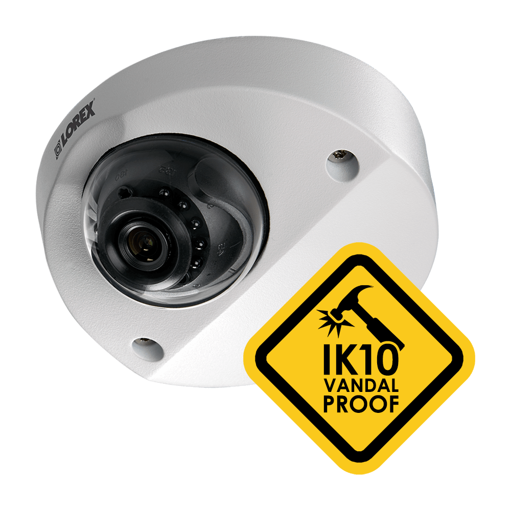 vandal-proof HD security camera