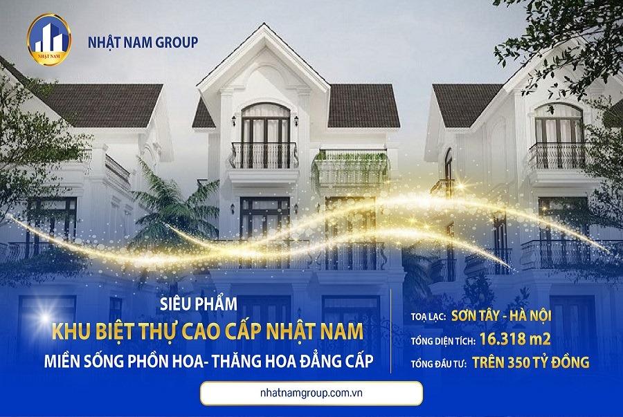 Khu biệt thự Nhật Nam tại Sơn Tây - Hà Nội - Nhật Nam gia tăng bất động sản
