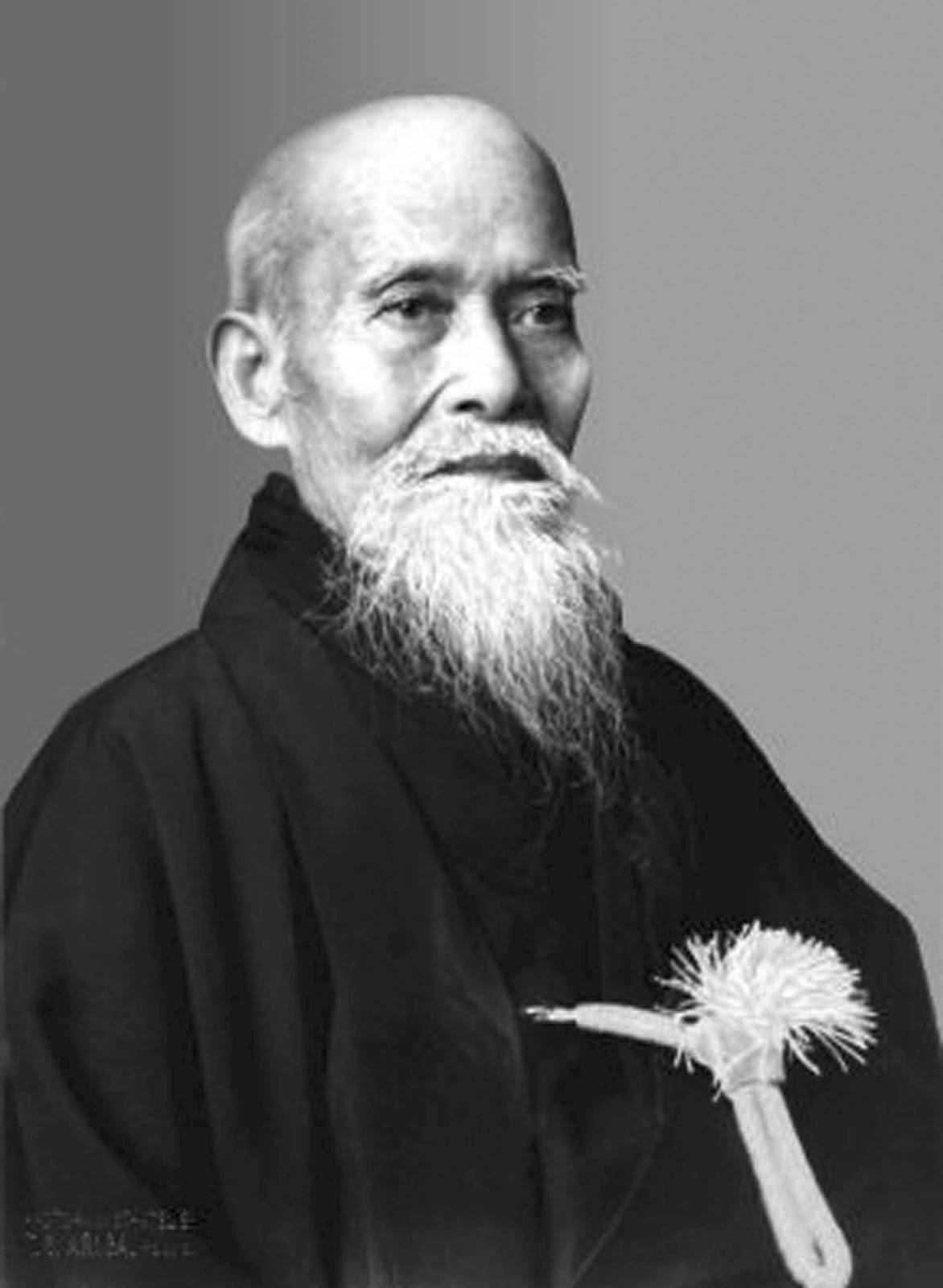 Morihei Ueshiba O'Senei      1883-1969