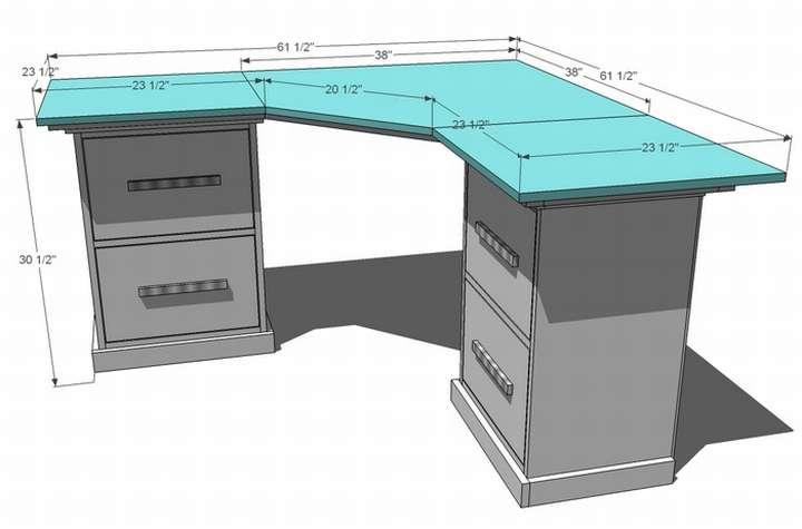 компьютерный стол в шкафу угловой
