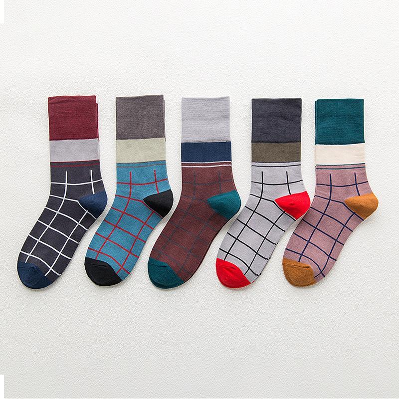 Ladies' Retro College Style Tube Socks