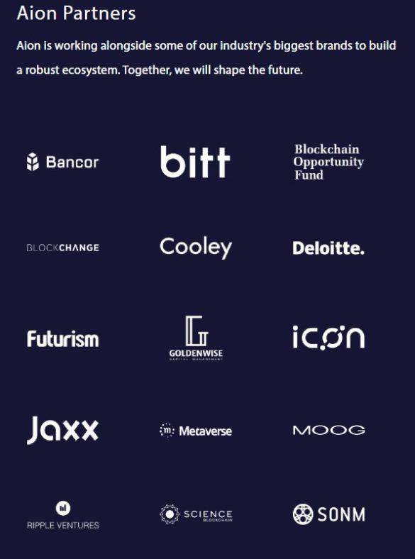 AION Partnerships
