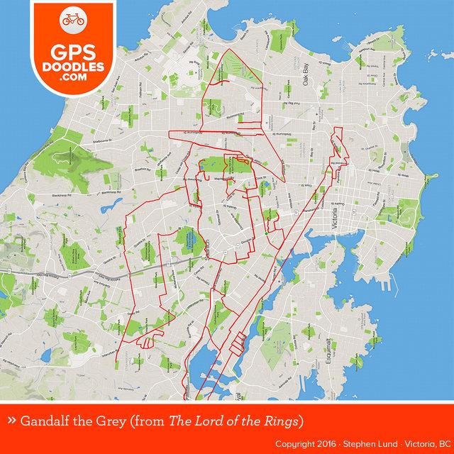 Traffic, Daily Commuting, Stephen Lund, Victoria, Canada, GPS Doodling