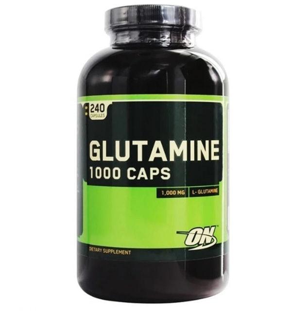 5. Optimum Nutrition Glutamine Caps