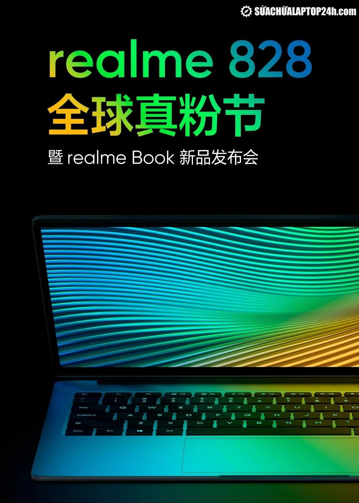 Realme Book với thiết kế viền kim loại