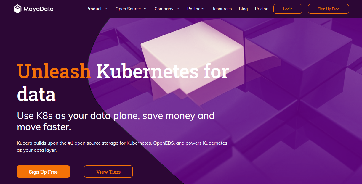 Kubera: Unleash Kubernetes for data