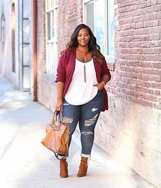 Plus-size fashion: best ideas for trendy outfits 2020 53