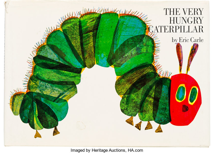 Books:Children's Books, Eric Carle. The Very Hungry Caterpillar. New York: The World Publishing Company, [1969]. First edition. ...