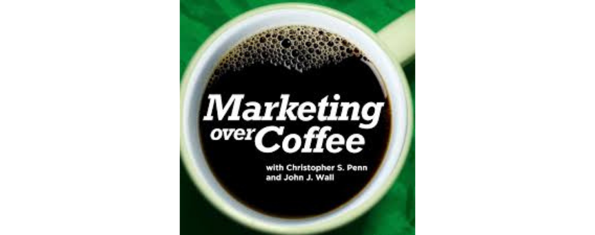 Marketing Over Coffee Marketing Podcast Podcasts logo