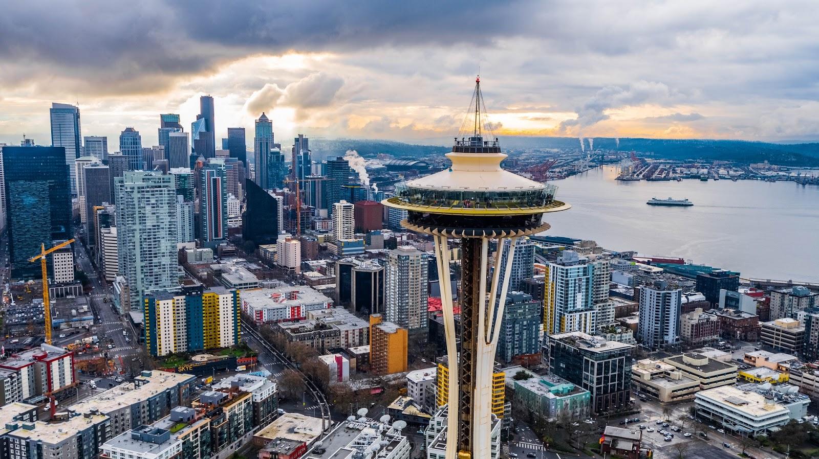 Cidade de Seattle, nos Estados Unidos, já tem mapeamento de caminhos mais acessíveis. (Fonte: Pexels)
