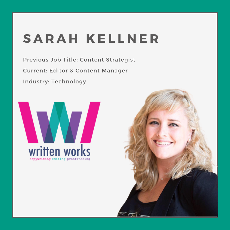 How to Change Jobs - Written Works - Sarah Kellner