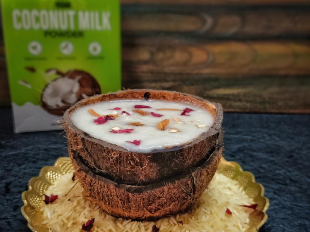 Coconut Milk Custard