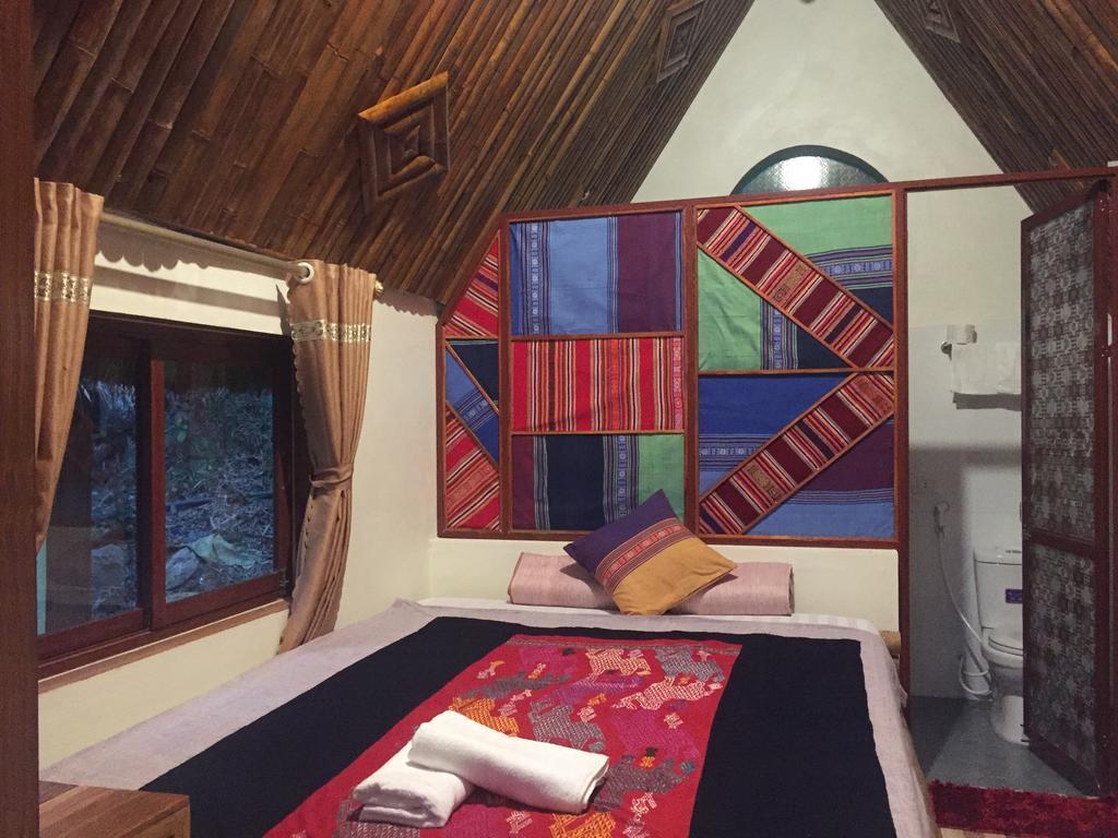 Phòng ngủ Lalastay homestay Mai Châu