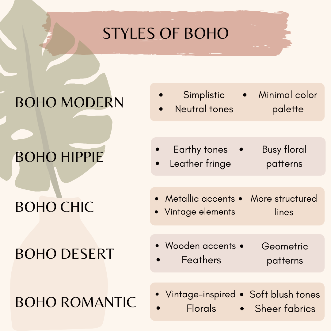 what is boho style