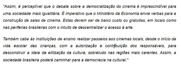 Exemplo - Escrito por Ana Clara Socha