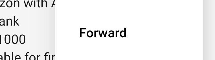 Tap Forward