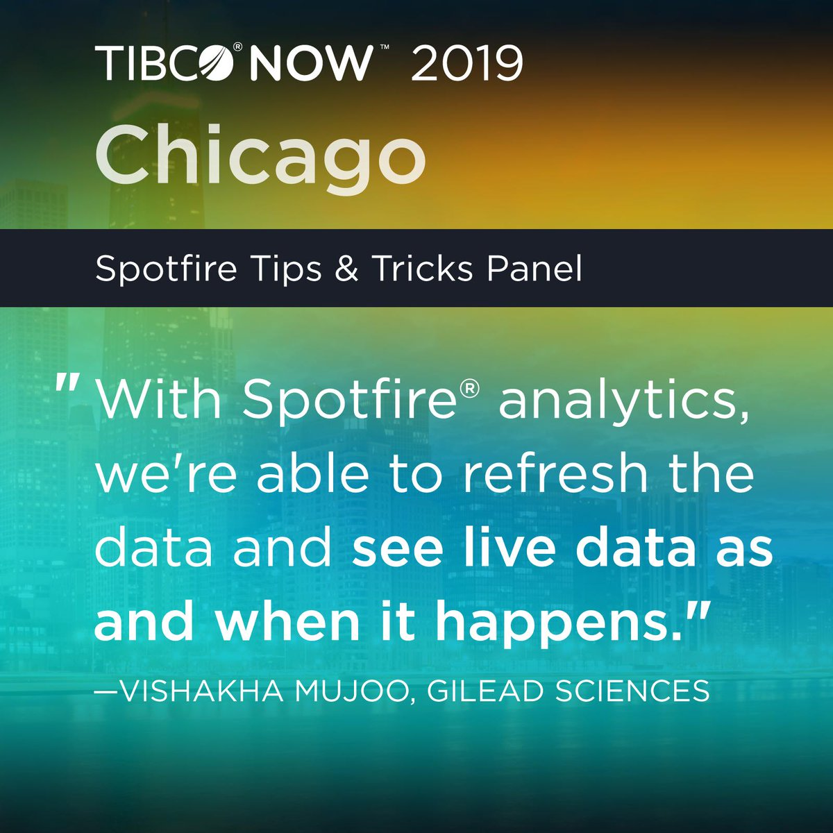 Top 5 Emerging Analytics Trends from TIBCO NOW Chicago