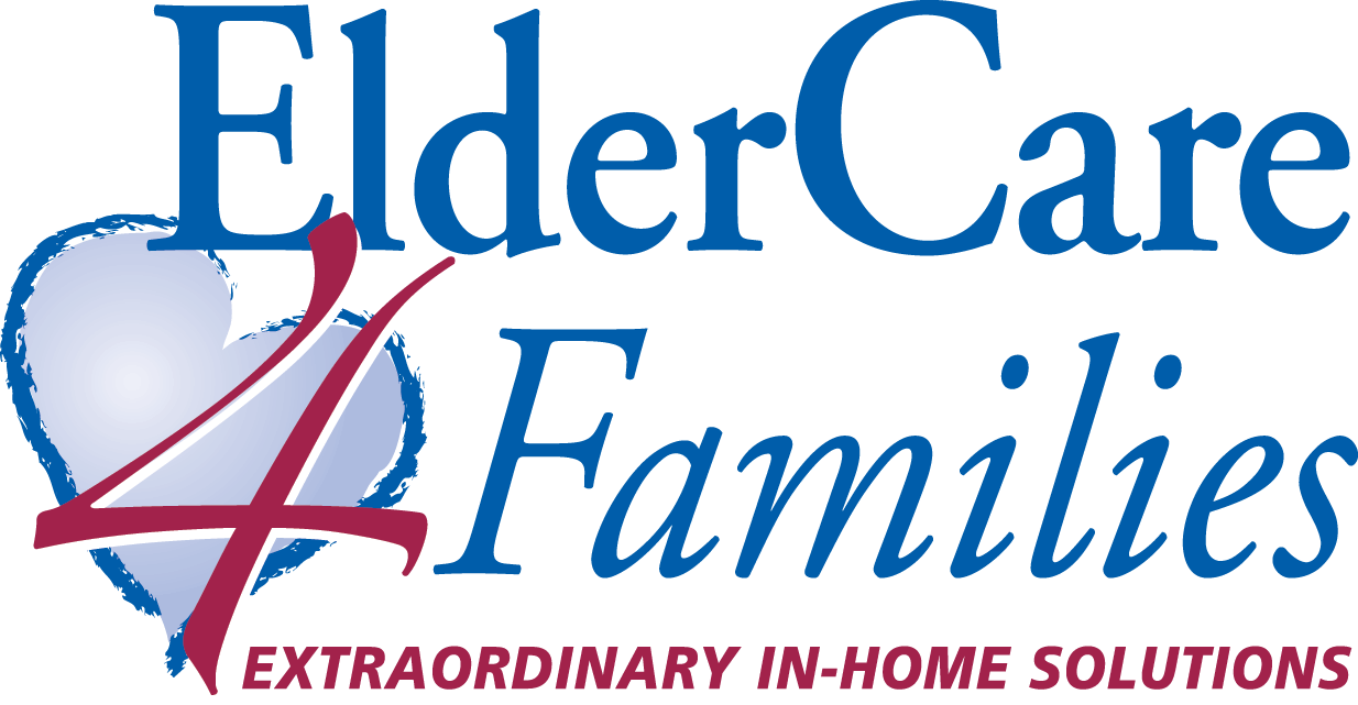 """Eldercare Families logo large with tagline """"Extraordinary In-Home Solutions"""""""