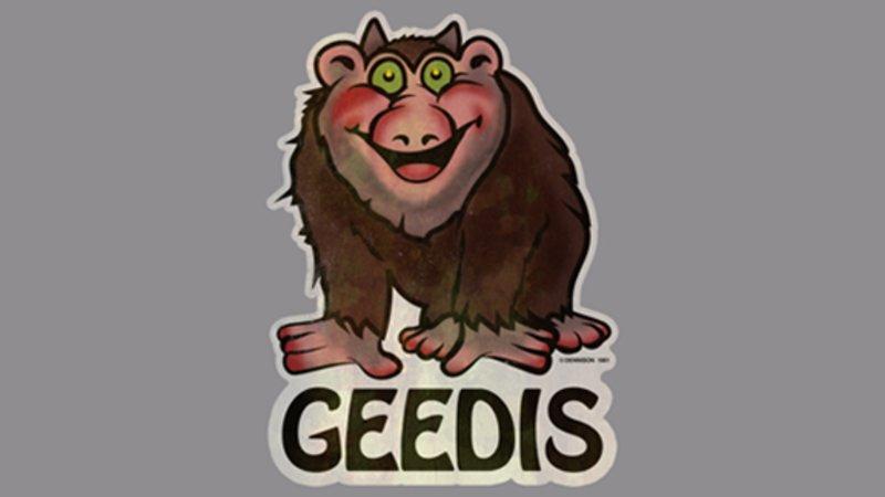 """La spilla di """"Geedis"""", che ha dato inizio al long-form per podcast di Reddit sull'origine di questo mostro."""